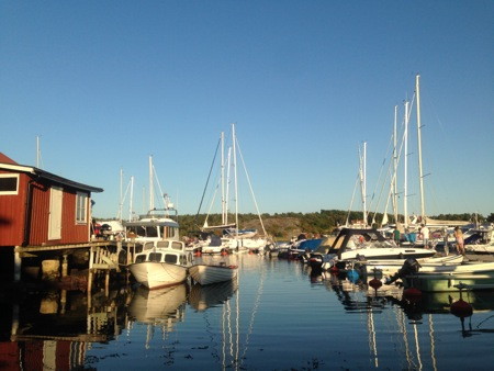 The guest-harbor  in Kostersundet