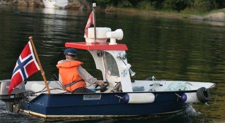 Little patrol boat